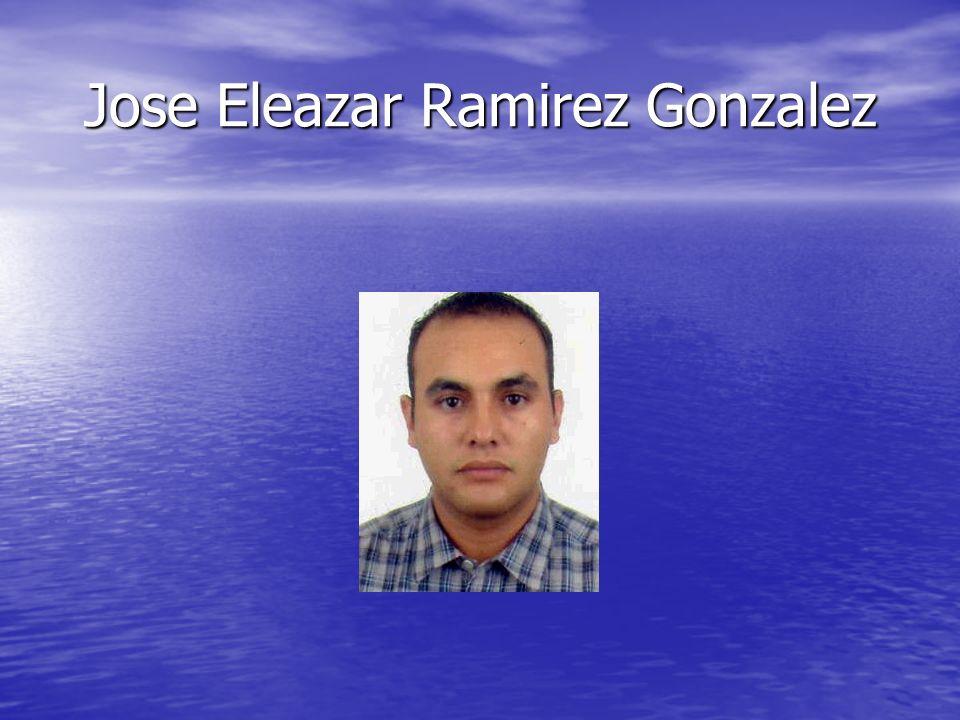 Jose Eleazar Ramirez Gonzalez