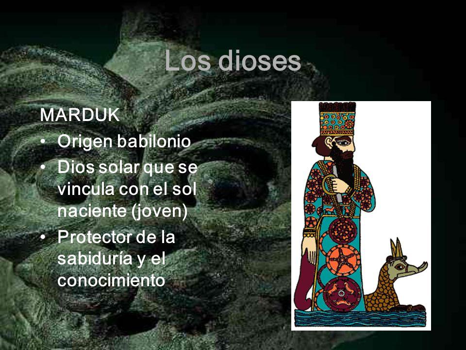 Los dioses MARDUK Origen babilonio