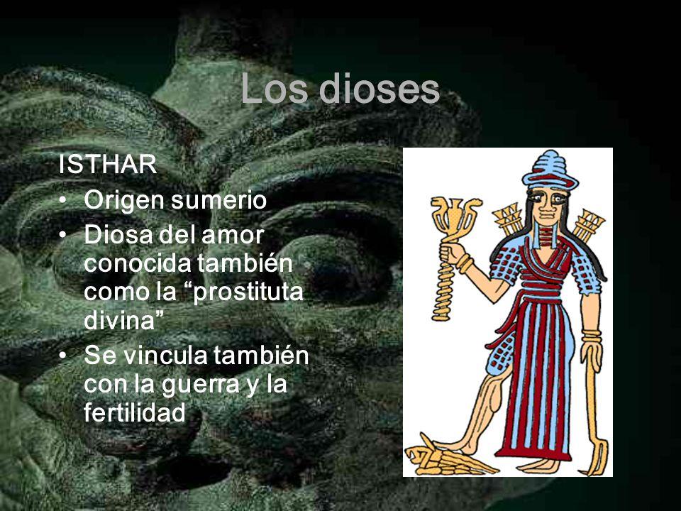 Los dioses ISTHAR Origen sumerio