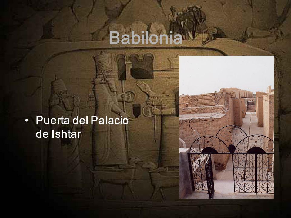 Babilonia Puerta del Palacio de Ishtar