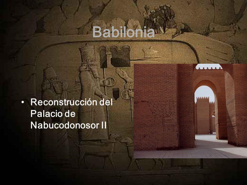 Babilonia Reconstrucción del Palacio de Nabucodonosor II