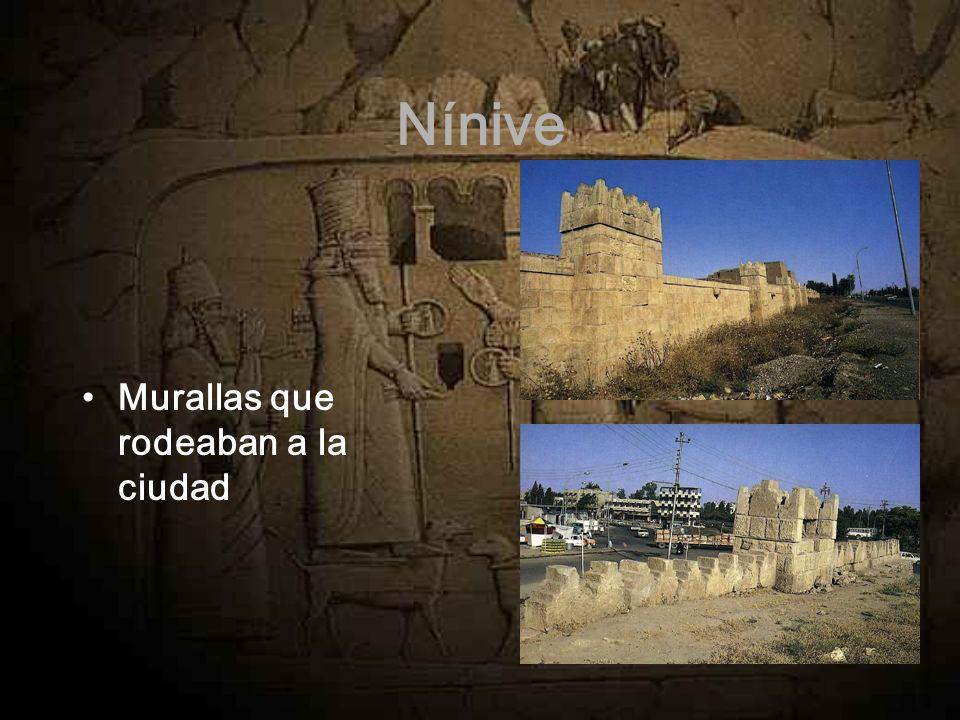 Nínive Murallas que rodeaban a la ciudad
