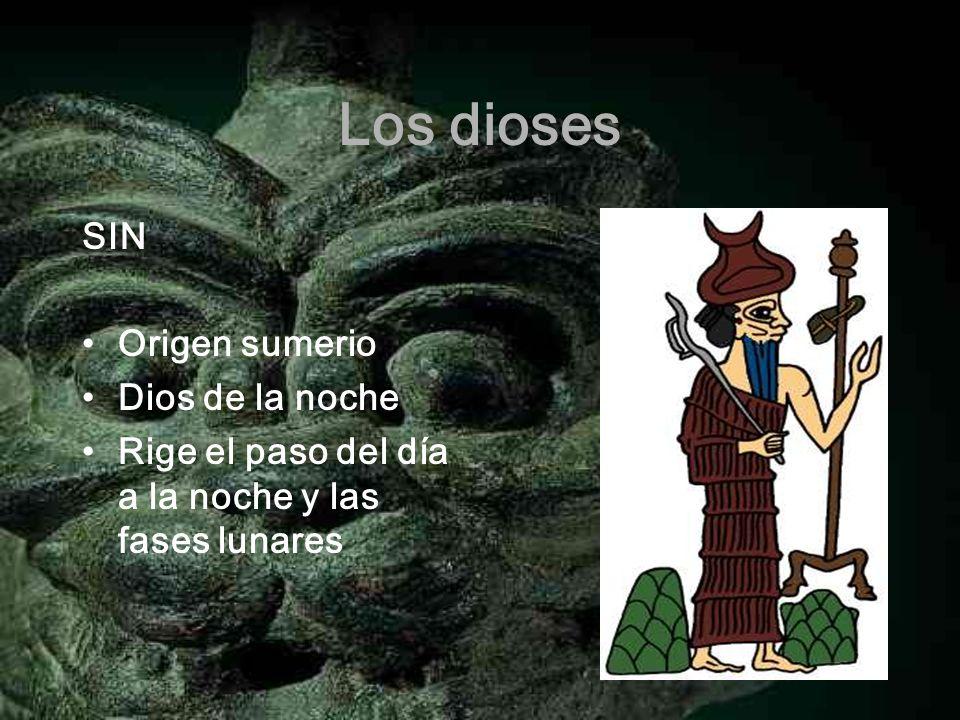 Los dioses SIN Origen sumerio Dios de la noche