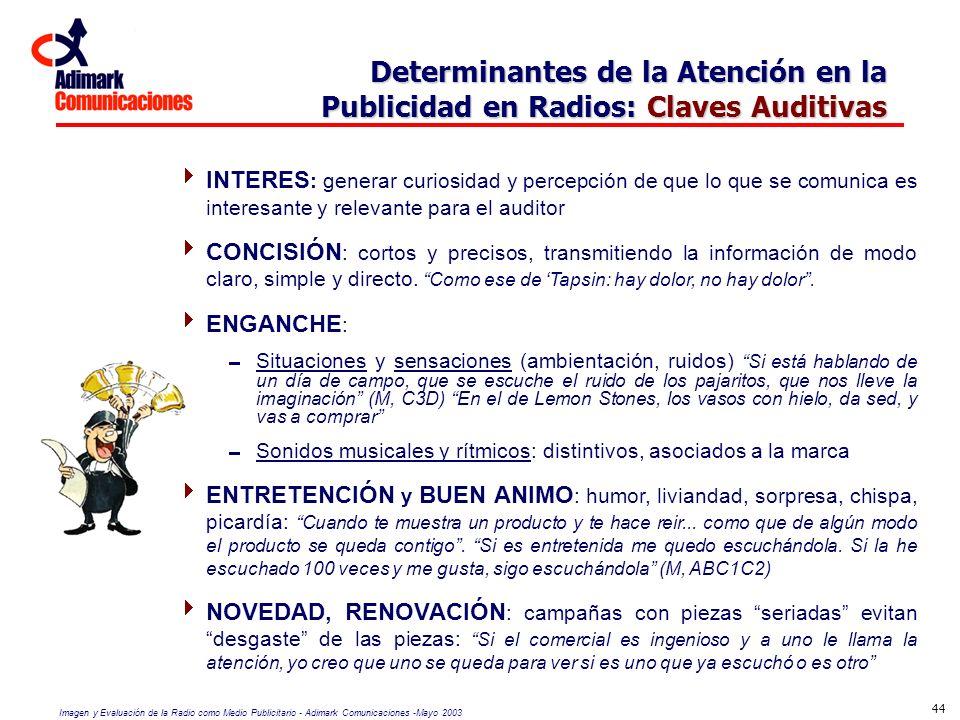 Determinantes de la Atención en la Publicidad en Radios: Claves Auditivas