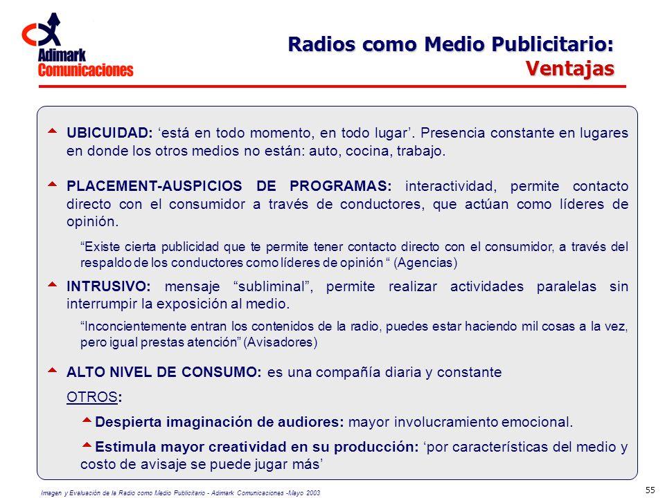 Radios como Medio Publicitario: Ventajas