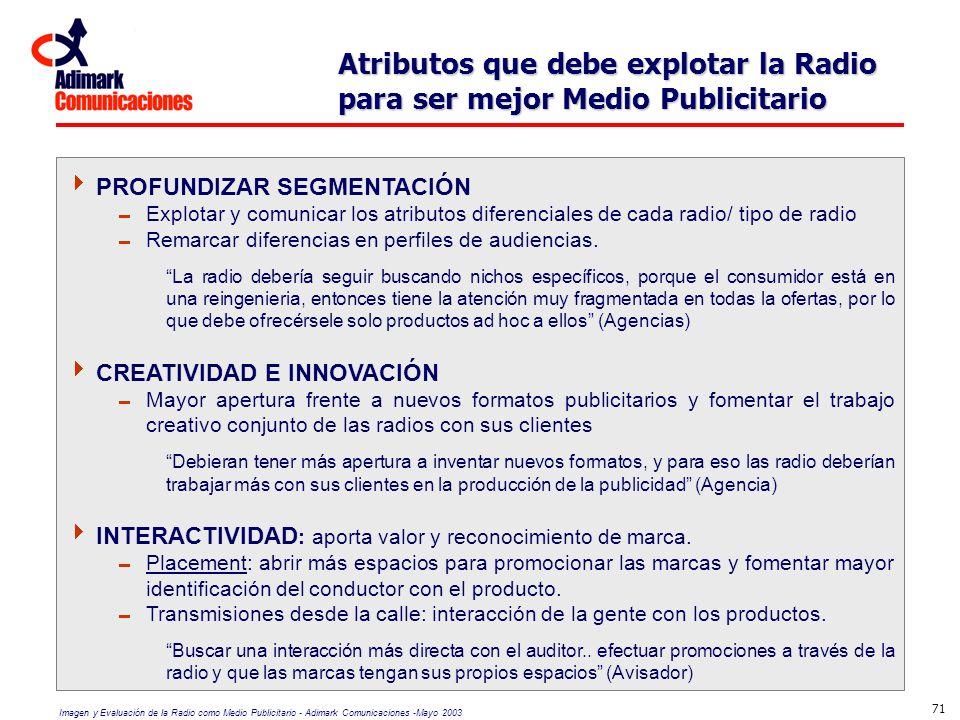 Atributos que debe explotar la Radio para ser mejor Medio Publicitario