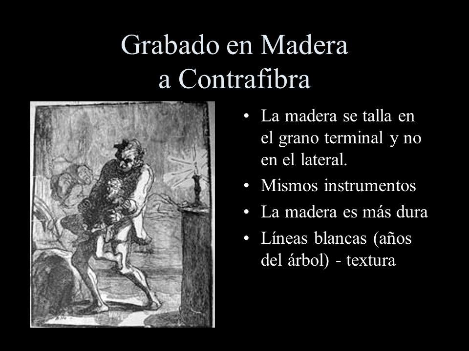 Grabado en Madera a Contrafibra