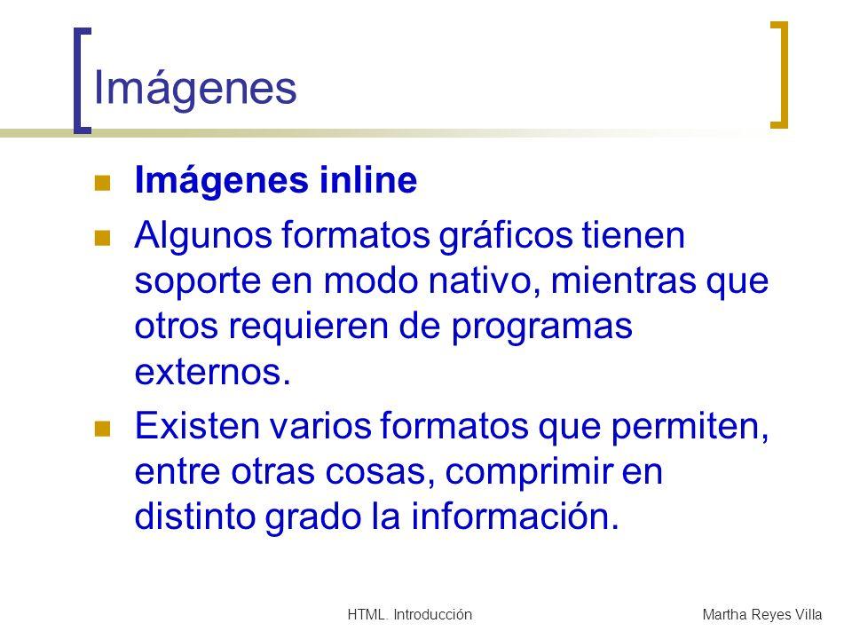 Imágenes Imágenes inline