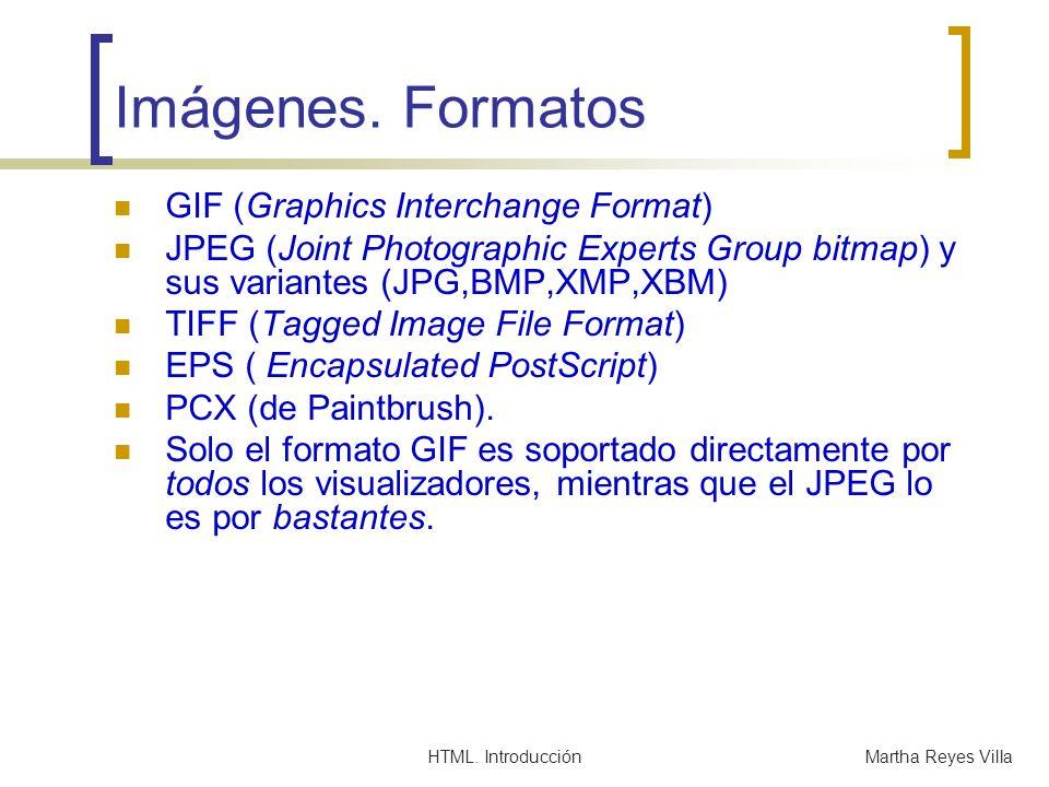 Imágenes. Formatos GIF (Graphics Interchange Format)