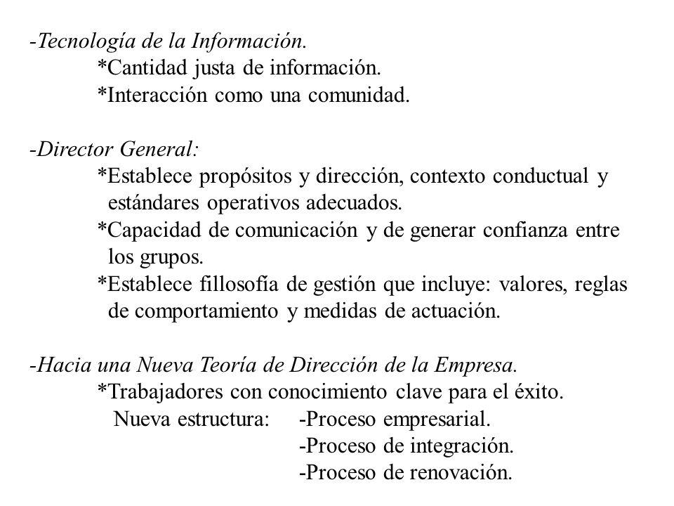 -Tecnología de la Información.