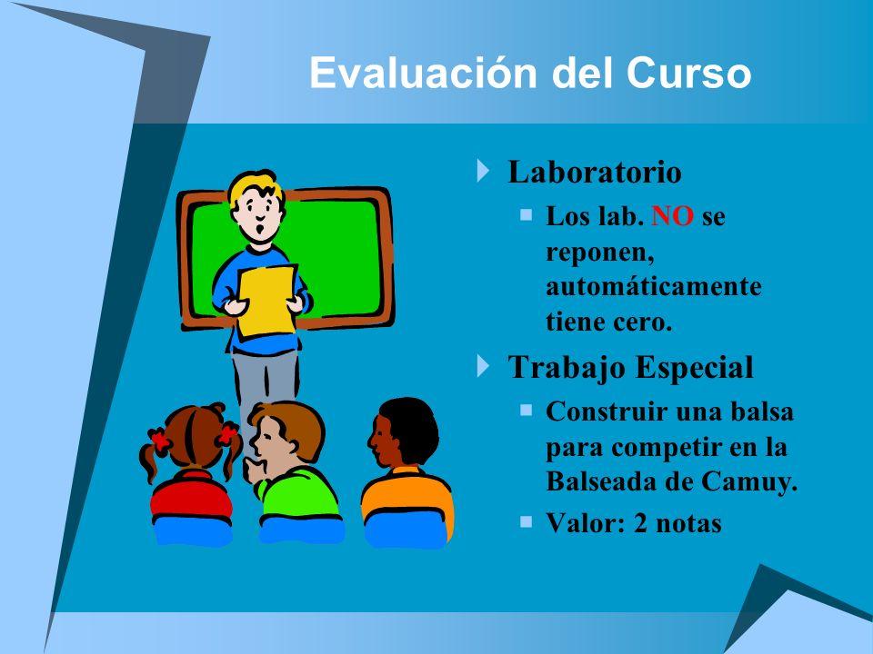 Evaluación del Curso Laboratorio Trabajo Especial