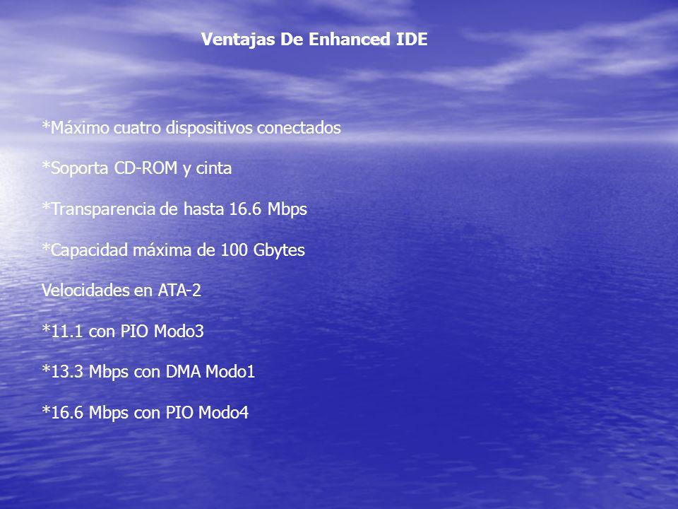 Ventajas De Enhanced IDE