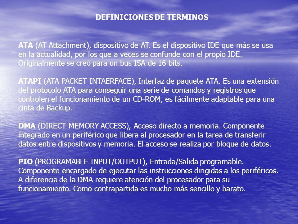 DEFINICIONES DE TERMINOS