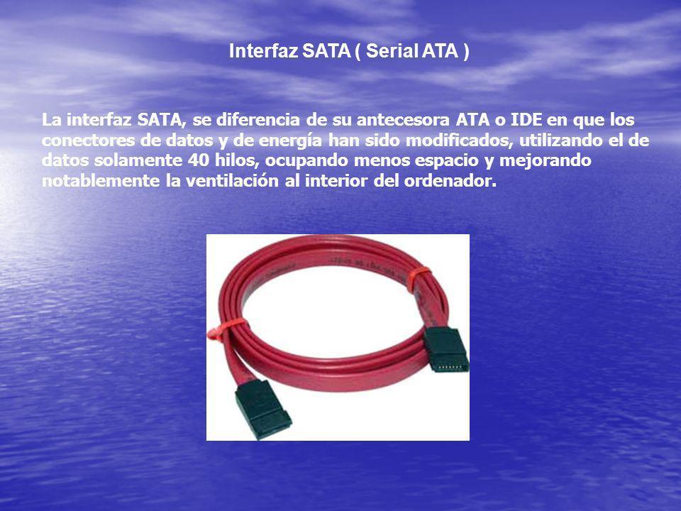 Interfaz SATA ( Serial ATA )