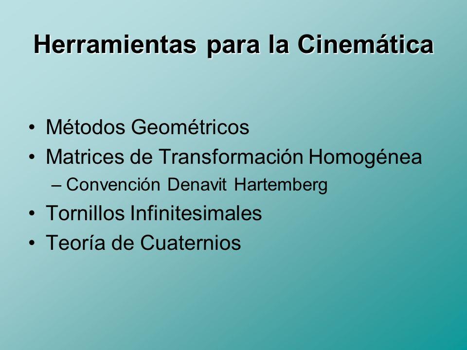 Herramientas para la Cinemática