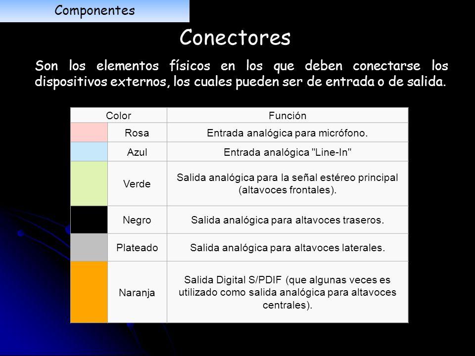 Conectores Componentes