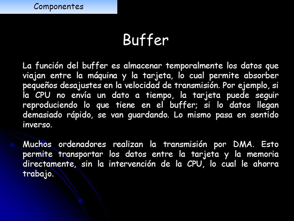Componentes Buffer.