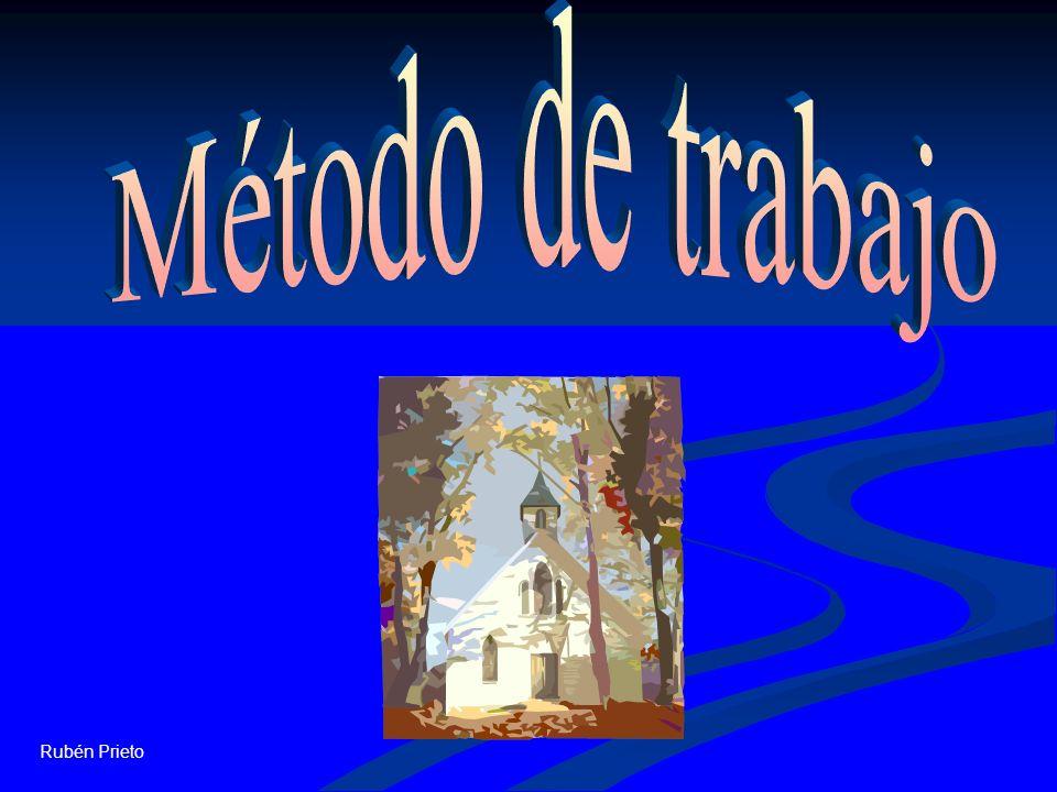 Método de trabajo Rubén Prieto