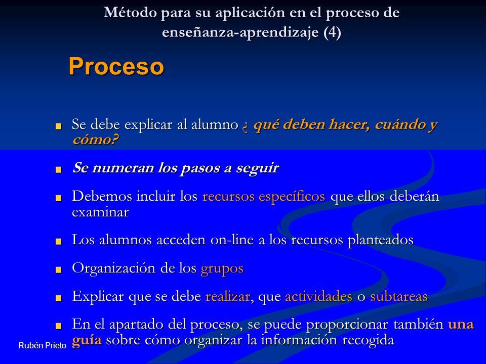 Método para su aplicación en el proceso de enseñanza-aprendizaje (4)