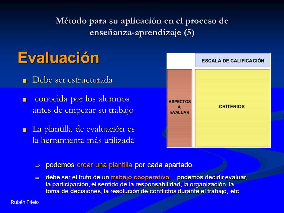 Método para su aplicación en el proceso de enseñanza-aprendizaje (5)