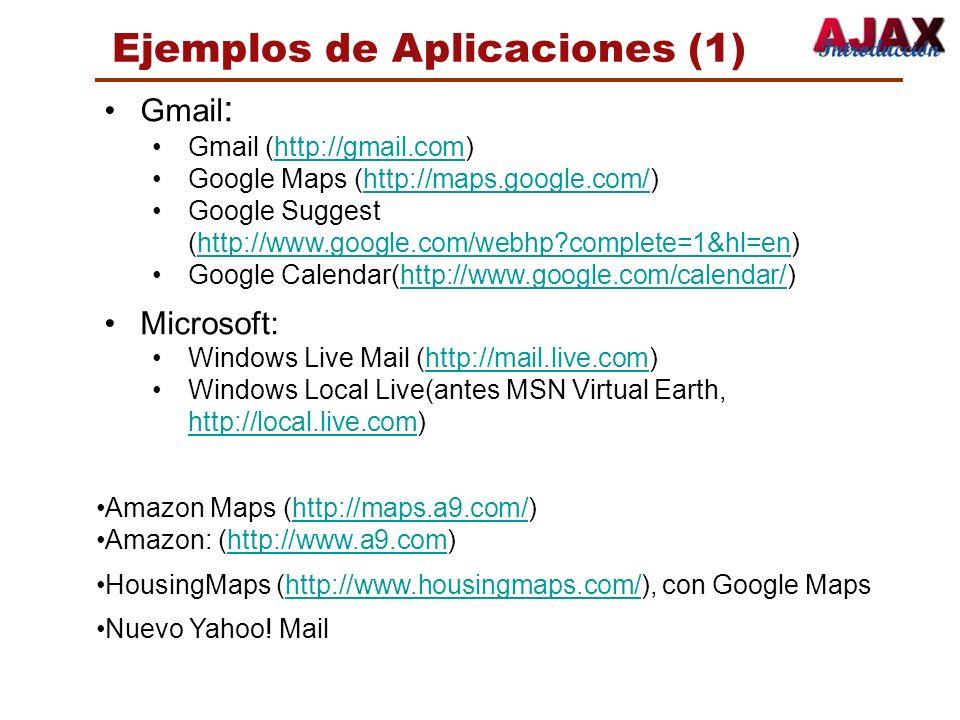 Ejemplos de Aplicaciones (1)