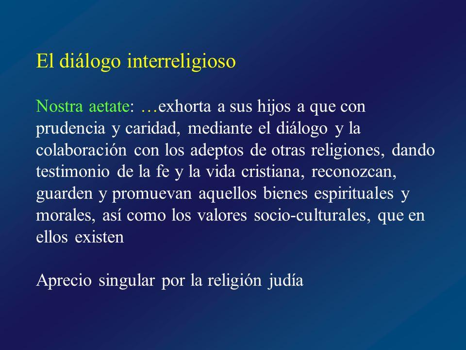 El diálogo interreligioso
