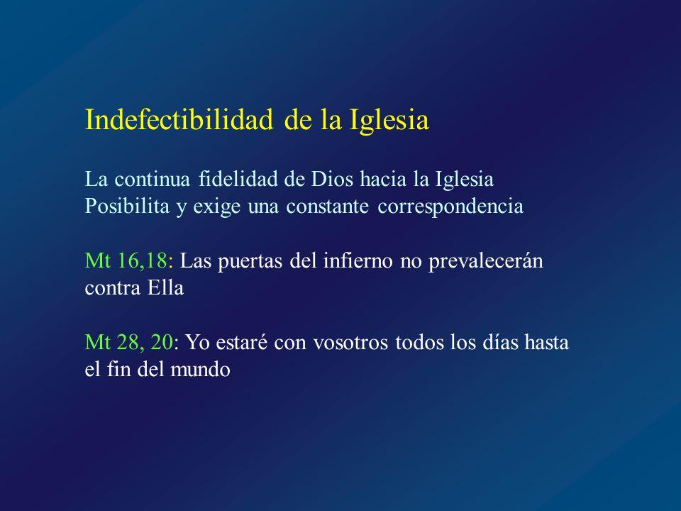 Indefectibilidad de la Iglesia