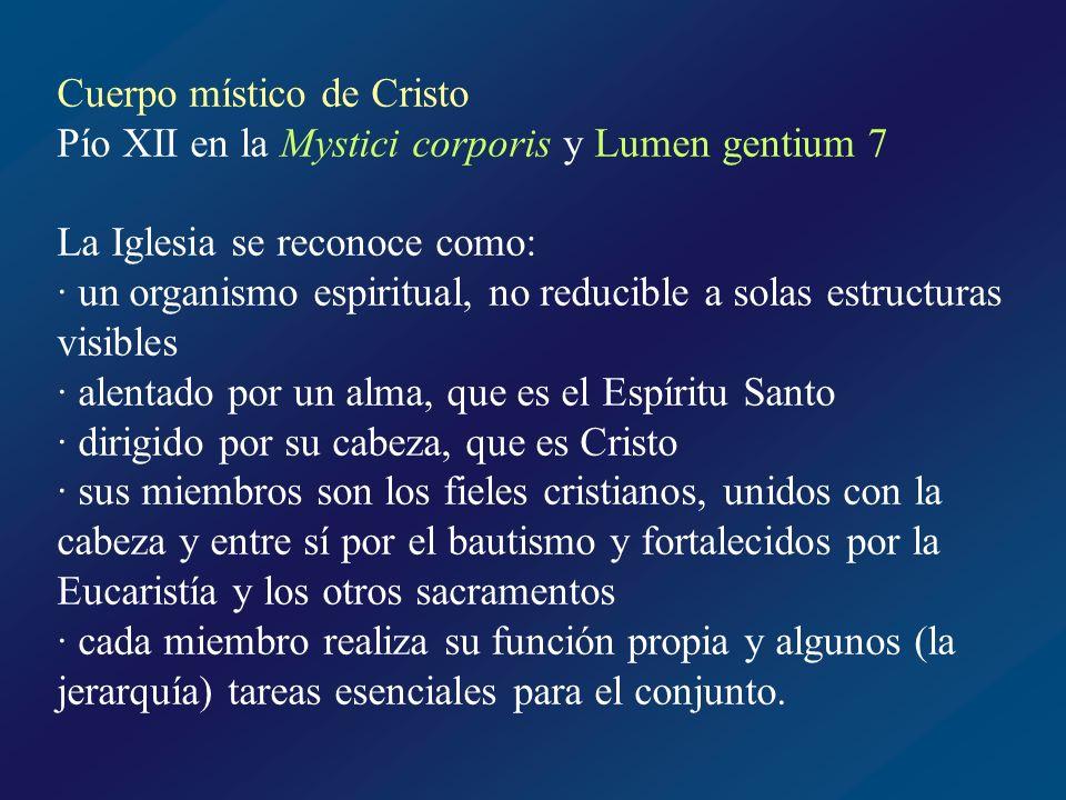Cuerpo místico de Cristo