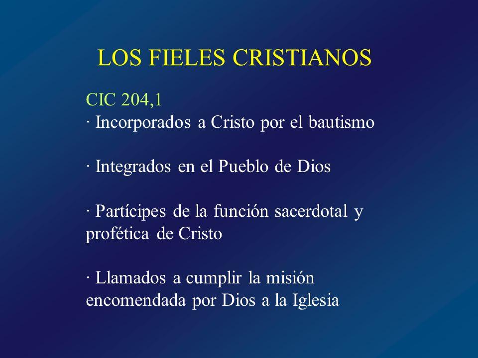 LOS FIELES CRISTIANOS CIC 204,1