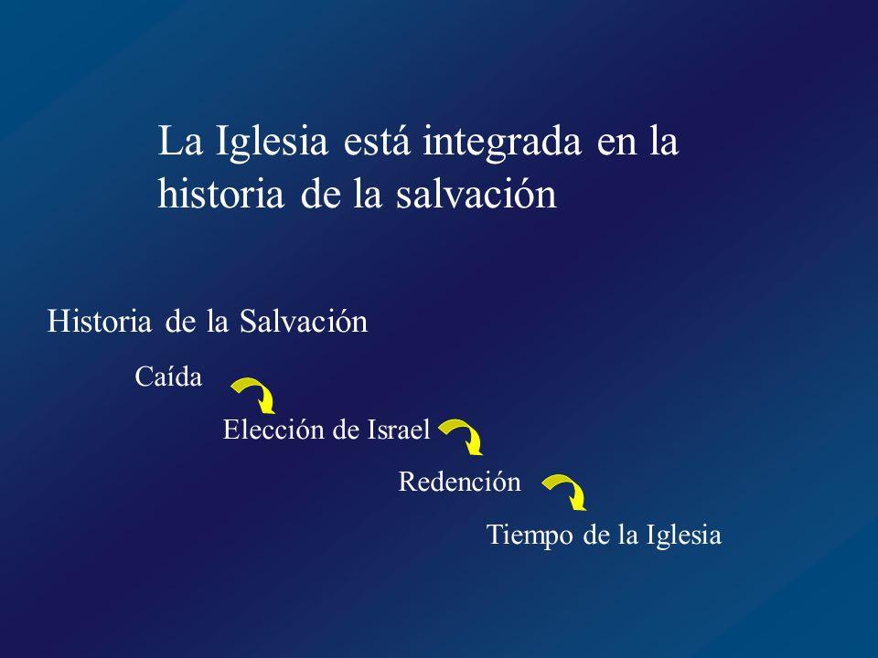 La Iglesia está integrada en la historia de la salvación
