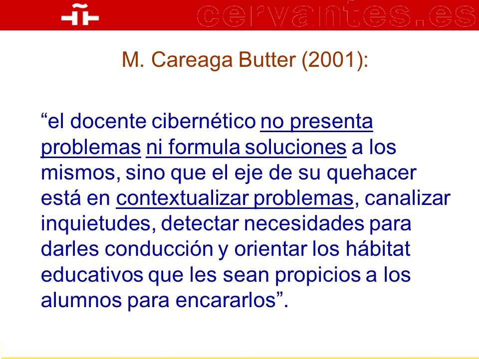M. Careaga Butter (2001):