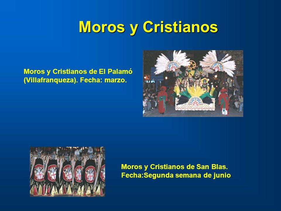 Moros y Cristianos Moros y Cristianos de El Palamó (Villafranqueza).