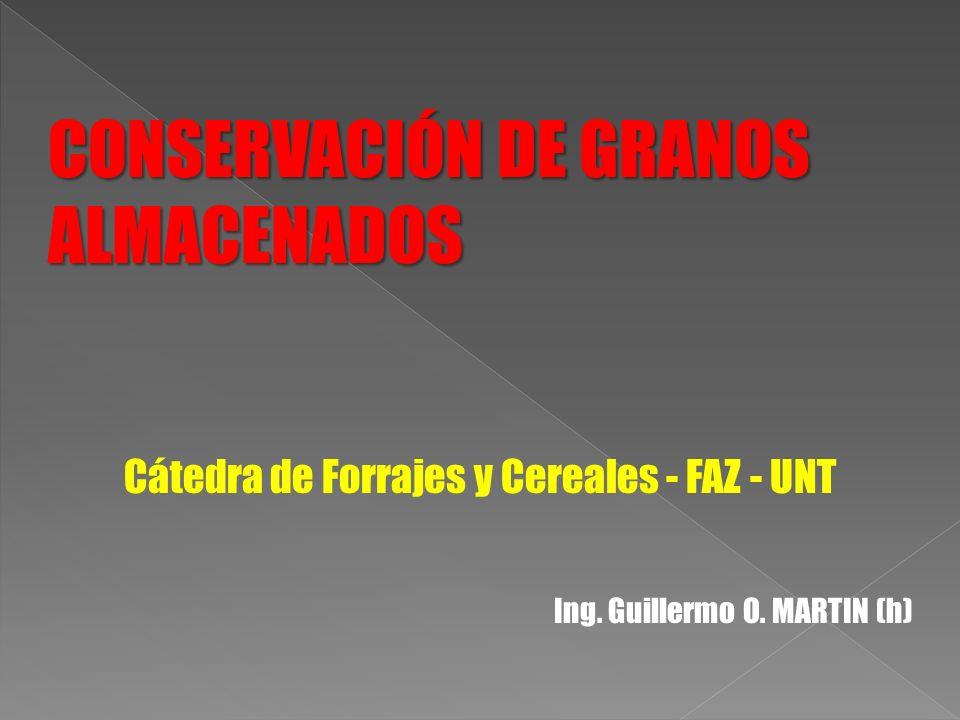 Cátedra de Forrajes y Cereales - FAZ - UNT