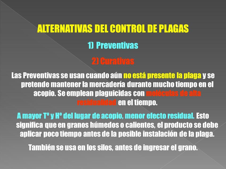 ALTERNATIVAS DEL CONTROL DE PLAGAS