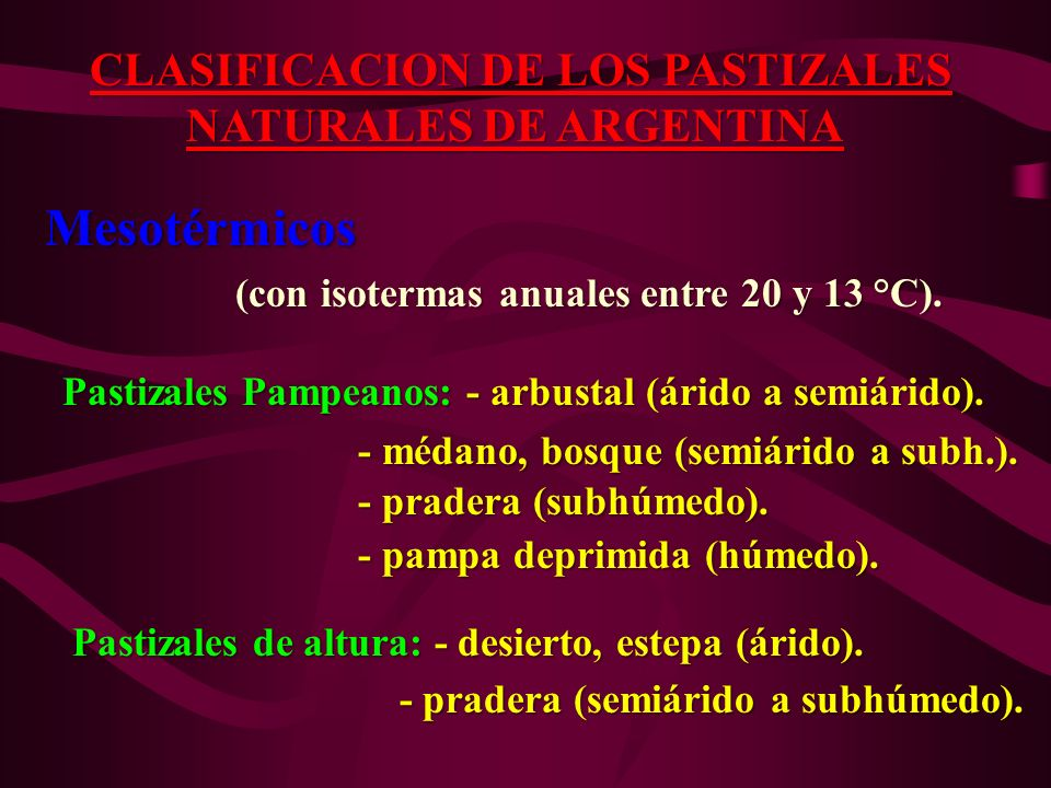 NATURALES DE ARGENTINA