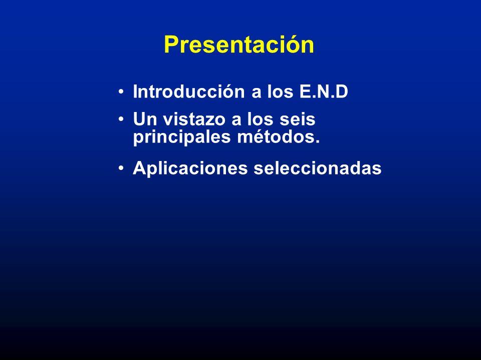 Presentación Introducción a los E.N.D