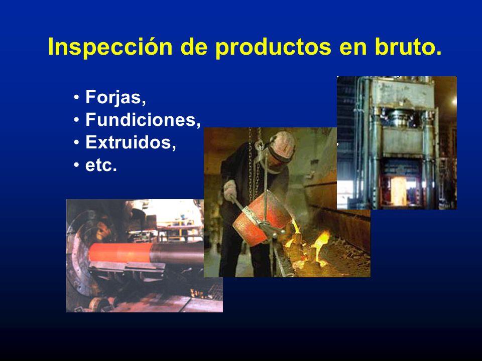 Inspección de productos en bruto.