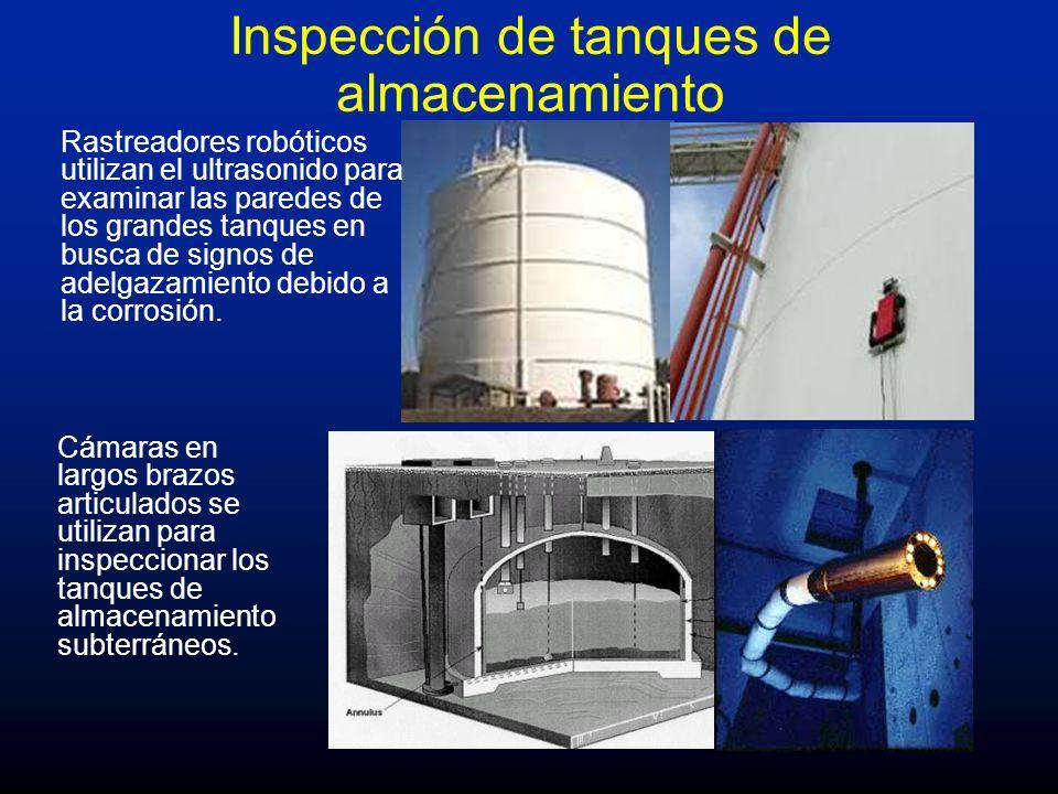 Inspección de tanques de almacenamiento