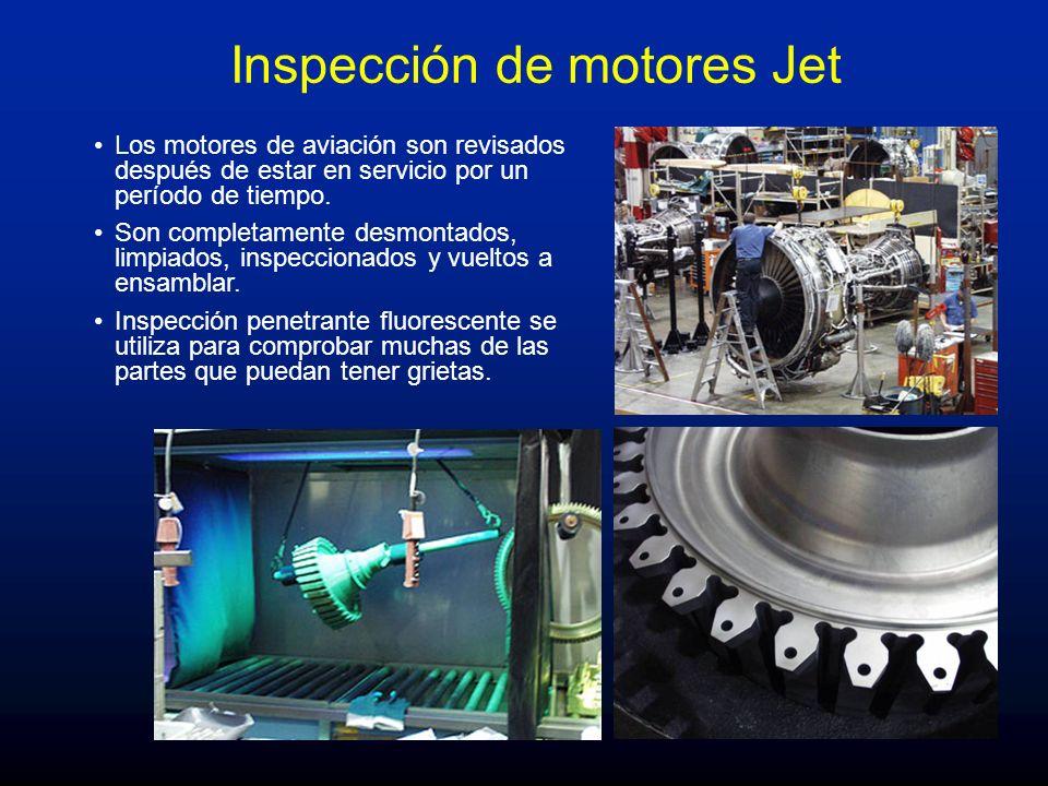 Inspección de motores Jet