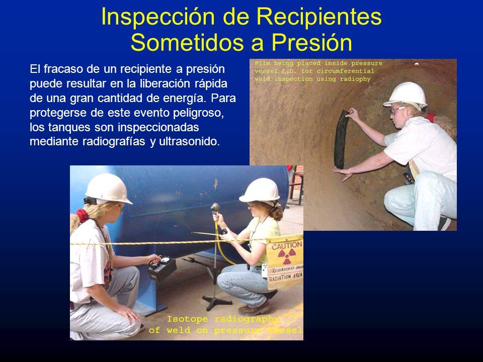Inspección de Recipientes Sometidos a Presión