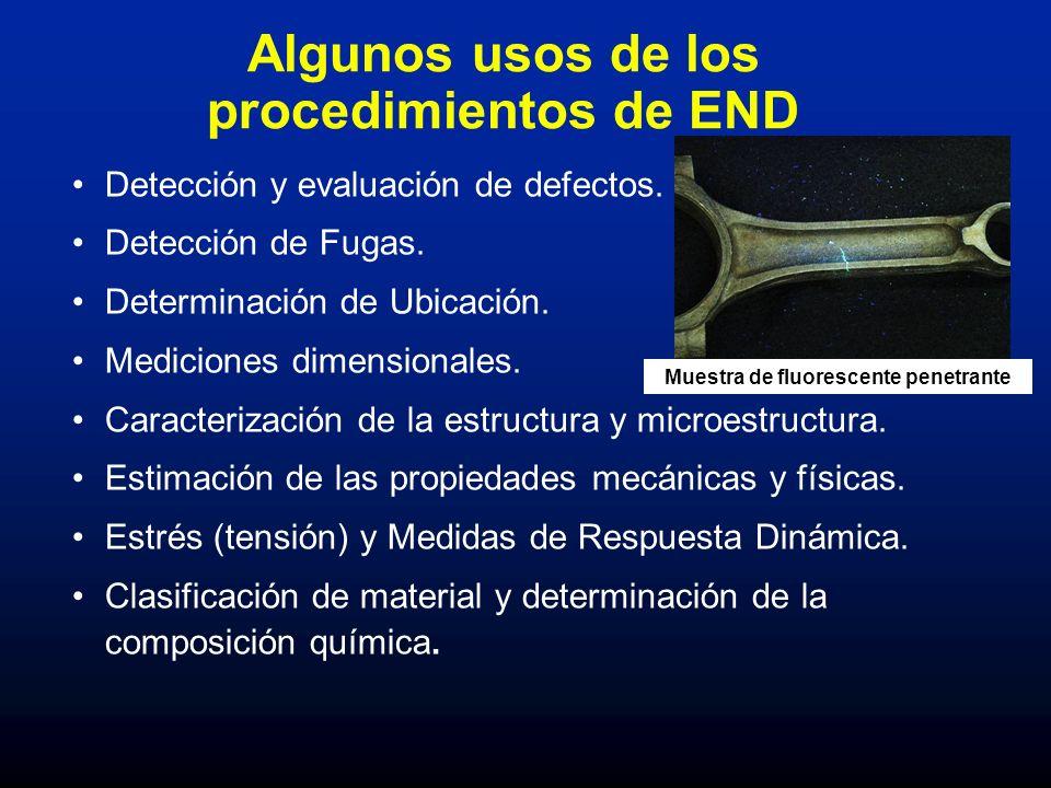 Algunos usos de los procedimientos de END