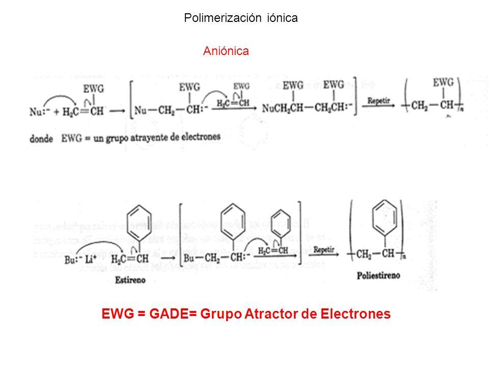 EWG = GADE= Grupo Atractor de Electrones