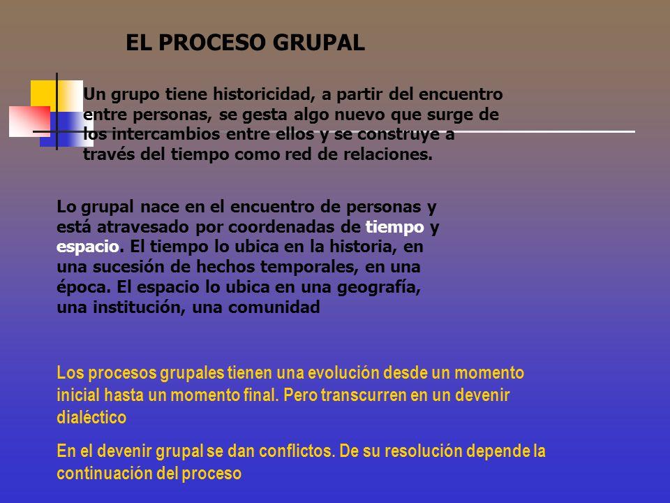 EL PROCESO GRUPAL