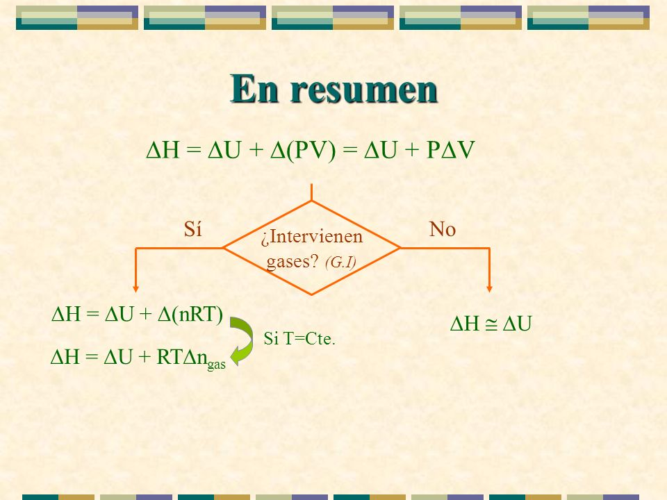 ¿Intervienen gases (G.I)