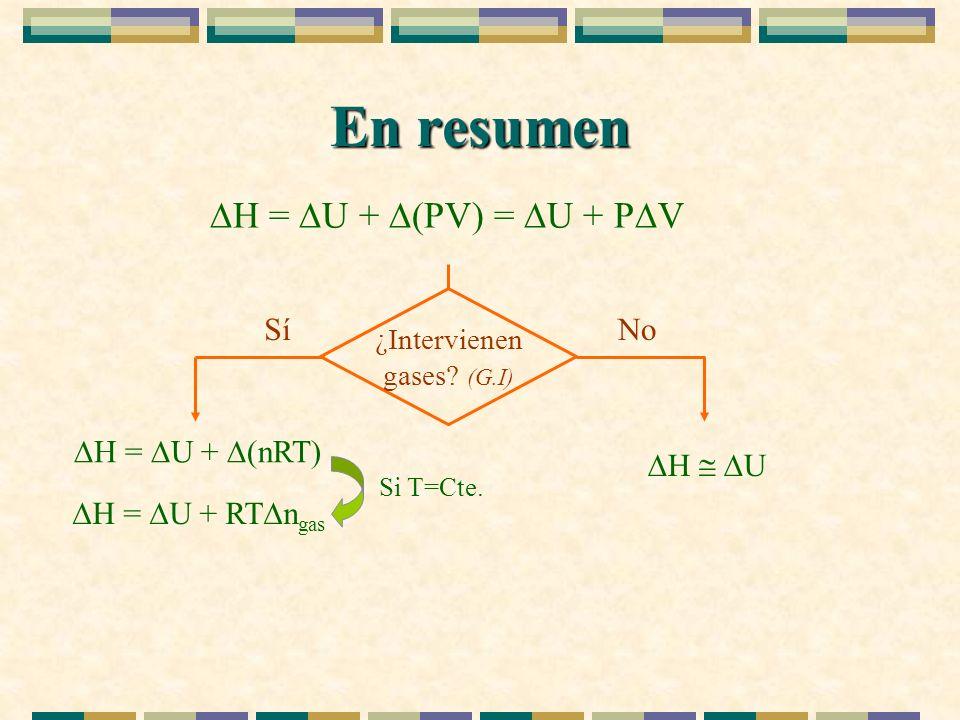 ¿Intervienen gases (G.I)