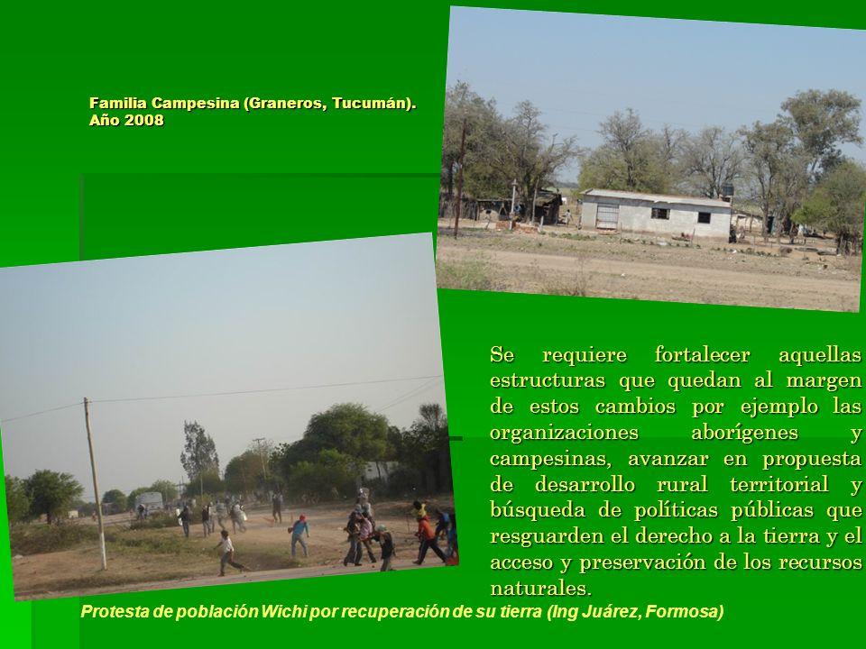 Familia Campesina (Graneros, Tucumán). Año 2008