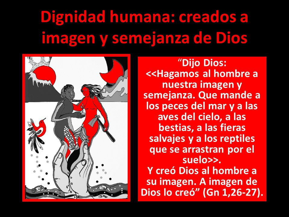 Dignidad humana: creados a imagen y semejanza de Dios
