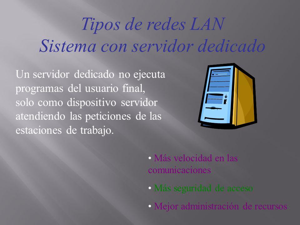 Sistema con servidor dedicado