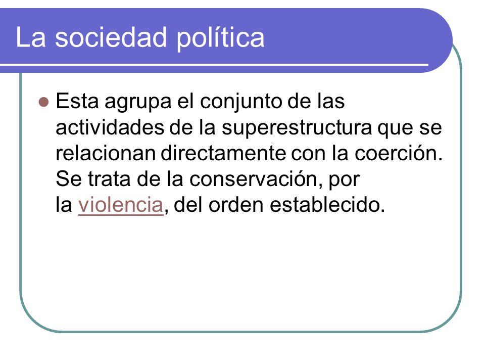La sociedad política