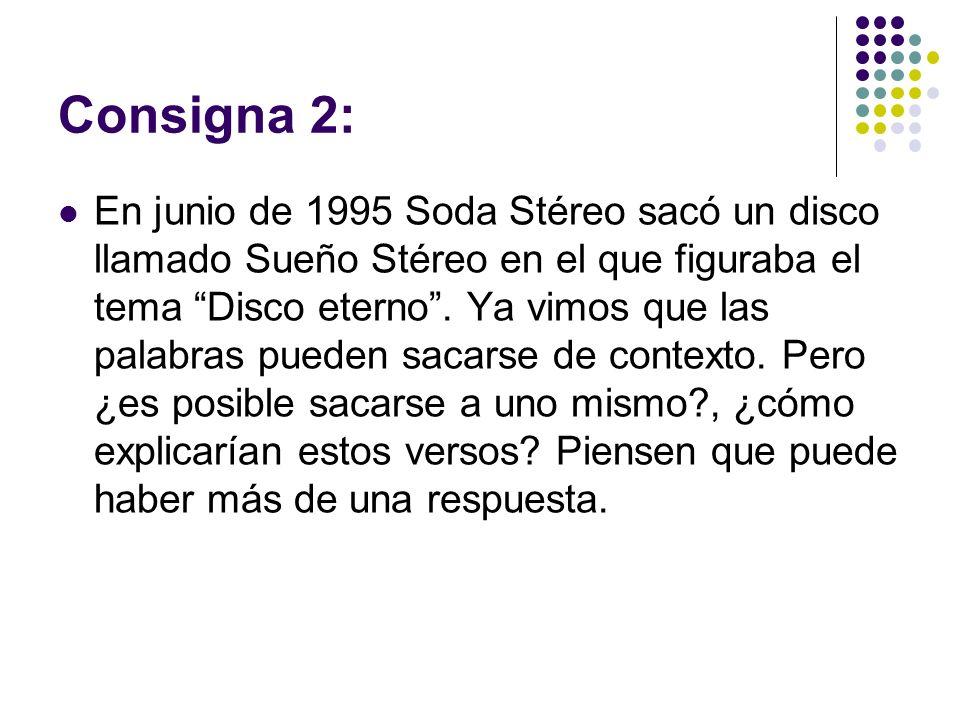 Consigna 2:
